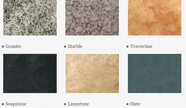 Different Kinds Of Granite Countertops : Different Types: Kitchen Countertops Different Types