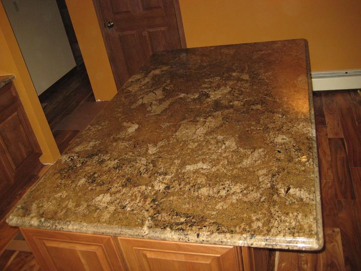 Countertop Beveled Edge : beveled edge ? Crafted Countertops Wisconsin Granite Countertops ...