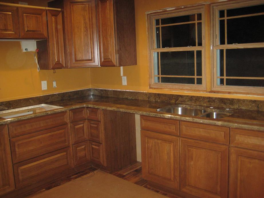 Custom Granite : Custom Granite Marigold Countertop With Ogee & Beveled Edge ...