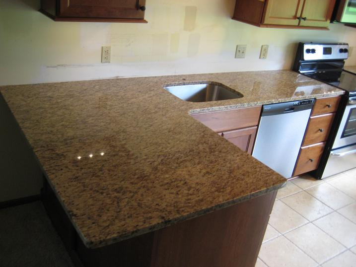 Countertop Eased Edge Profile : Eased Edge Granite 1/8? eased edge profile.