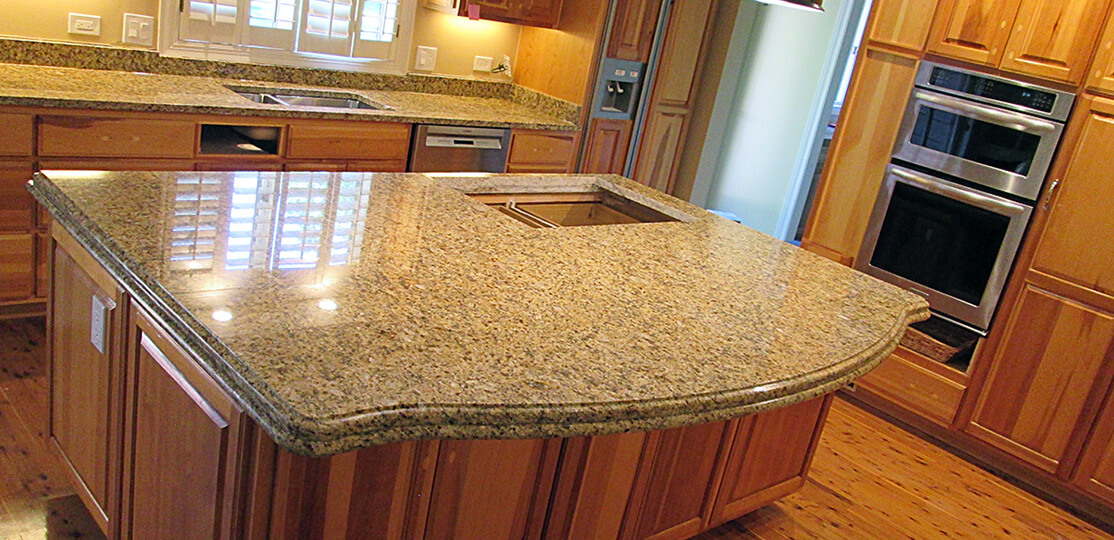 Granite Kitchen Countertop Amp Island Crafted Countertops